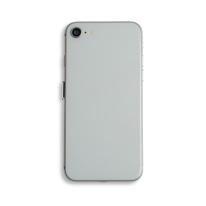 Back Housing with Small Parts for iPhone 8 (GENERIC) - Silver