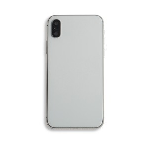 Back Housing with Small Parts for iPhone X (GENERIC) - Silver