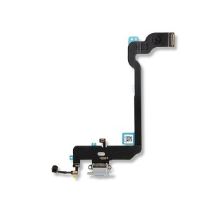 Charging Port Flex Cable for iPhone XS - Silver
