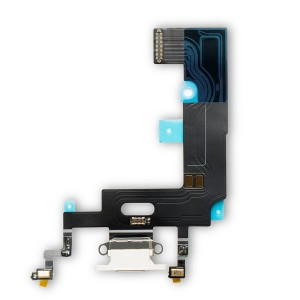 Charging Port Flex Cable for iPhone XR - White