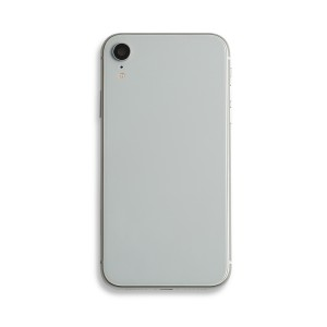 Back Housing with Small Parts for iPhone XR (GENERIC) - White