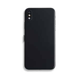 Back Housing with Small Parts for iPhone XS (GENERIC) - Black