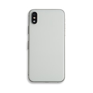 Back Housing with Small Parts for iPhone XS (GENERIC) - Silver