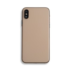 Back Housing with Small Parts for iPhone XS (GENERIC) - Gold
