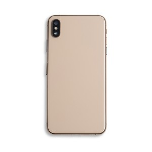 Back Housing with Small Parts for iPhone XS Max (GENERIC) - Gold