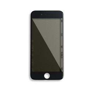 Glass with Frame / OCA / Polarizer Pre-Installed for iPhone 6S - Black