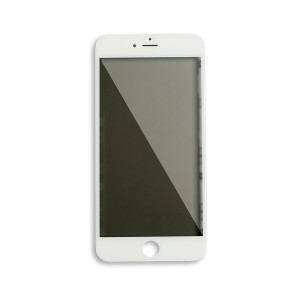 Glass with Frame / OCA / Polarizer Pre-Installed for iPhone 6S Plus - White