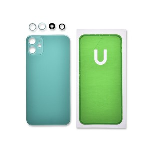 Back Glass and Rear Camera Lens Set for iPhone 11 (Generic) - Green