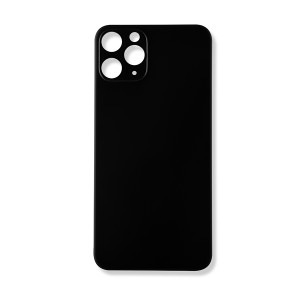 Back Glass and Rear Camera Lens Set for iPhone 11 Pro (Generic) - Space Gray