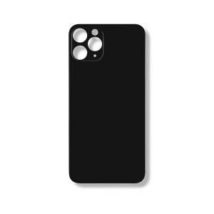 Back Glass (Large Lens Cutout) for iPhone 11 Pro (Generic) - Midnight Green