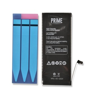 Battery with Adhesive for iPhone 6S Plus (PRIME - High Capacity)