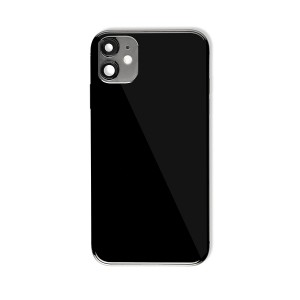 Back Housing with Small Parts for iPhone 11 (GENERIC) - Black