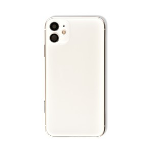 Back Housing with Small Parts for iPhone 11 (GENERIC) - White