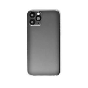 Back Housing with Small Parts for iPhone 11 Pro (GENERIC) - Space Gray
