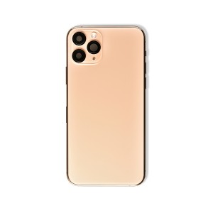 Back Housing with Small Parts for iPhone 11 Pro (GENERIC) - Gold