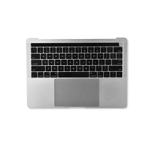 """Palmrest Assembly with Trackpad and Battery for 13"""" MacBook Pro with Touchbar - Late 2016 / 2017 (A1706) - Silver"""