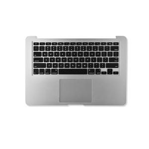 """Palmrest Assembly with Trackpad for 13"""" MacBook Air - Mid 2013/Mid 2017 (A1466) - Silver"""