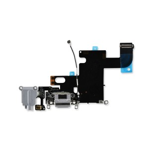 Charging Port Flex for iPhone 6 (SELECT) - Dark Gray