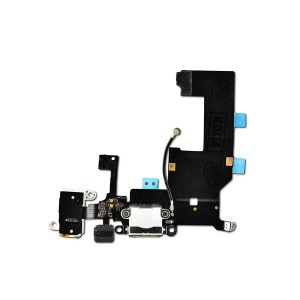 Charging Port Flex Cable for iPhone 5 (PRIME) - White