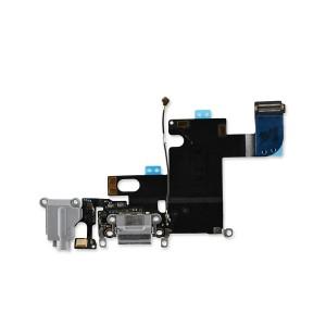 Charging Port Flex for iPhone 6 (PRIME) - Dark Gray