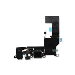 Charging Port Flex for iPhone SE (PRIME) - Black