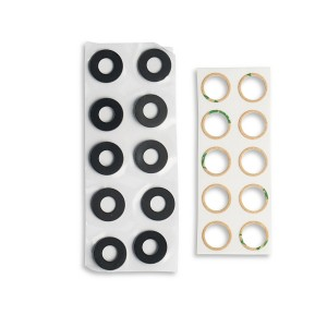Rear Camera Lens with Adhesive for Google Pixel 2 - 10 pack