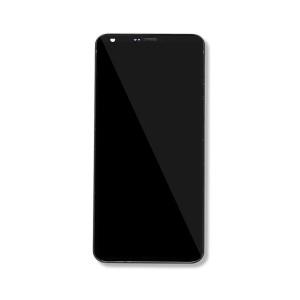 LCD & Digitizer Frame Assembly for LG G6 - Black
