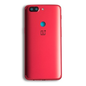 Back Cover for OnePlus 5T - Red