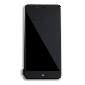 LCD & Digitizer Framed Assembly for OnePlus X - Black