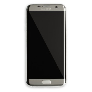 OLED Frame Assembly for Galaxy S7 Edge (OEM - Refurbished) - Silver Titanium