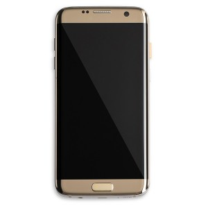 OLED Frame Assembly for Galaxy S7 Edge (OEM - Certified Refurbished) - Gold Platinum