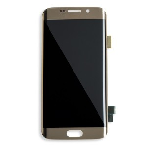 OLED Display Assembly for Galaxy S6 Edge (OEM - Certified Refurbished) - Gold Platinum