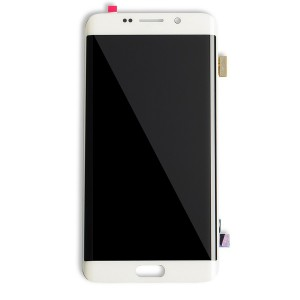 OLED Display Assembly for Galaxy S6 Edge Plus (OEM - Refurbished) - White Pearl