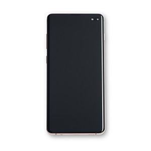OLED Frame Assembly for Galaxy S10+ (OEM - Service Pack) - Ceramic White