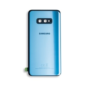 Back Glass with Adhesive for Galaxy S10e (OEM - Service Pack) - Prism Blue