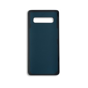 Back Glass with Adhesive for Galaxy S10 (Generic) - Prism Black