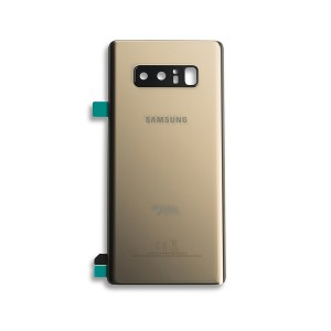 Back Glass with Adhesive for Galaxy Note 8 (Prime - OEM) - Maple Gold
