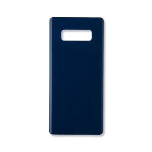 Back Glass with Adhesive for Galaxy Note 8 (Generic) - Deepsea Blue