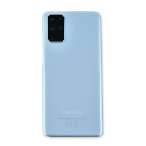 Back Glass with Adhesive for Galaxy S20+ (OEM - Service Pack) - Cloud Blue