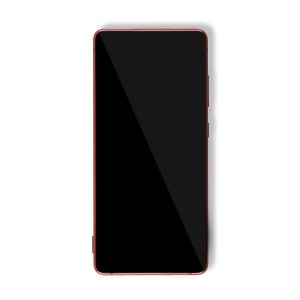 OLED Frame Assembly for Galaxy S20 FE 5G (OEM - Service Pack) - Cloud Red