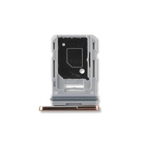 Dual Sim Tray for Galaxy S20 FE 5G - Cloud Orange
