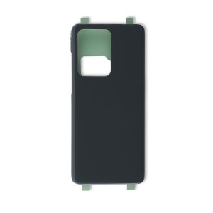 Back Cover with Adhesive for Galaxy S20 Ultra 5G (Generic) - Cosmic Gray