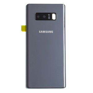 Back Glass with Adhesive for Galaxy Note 8 (OEM - Service Pack) - Orchid Gray