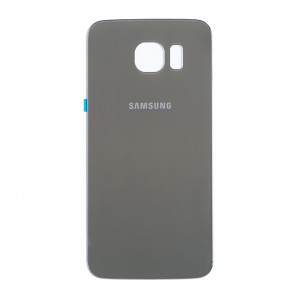 Back Glass for Samsung Galaxy S6 (w/ Adhesive) (PrimeParts - OEM) - Gold