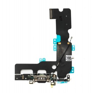 Charging Port Flex Cable for iPhone 7 Plus - Black