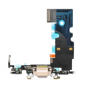 Charging Port Flex Cable for iPhone 8 - Gold