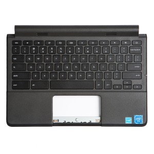 Palmrest with Keyboard (OEM Pull) for Dell Chromebook 11 3120 / 3120 Touch - (Grade B)