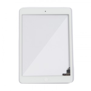 Digitizer (w/ IC Connector & Home Button) for iPad Mini / iPad Mini 2 (MDSelect) - White