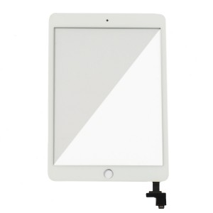 Digitizer (w/ IC Control Circuit Logic Board Flex Cable) for iPad Mini 3 (Select) - White