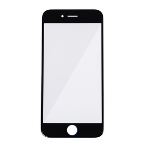 """Glass Lens for iPhone 6 (4.7"""") / iPhone 6S (4.7"""") - Black"""